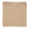 Boat House - Natural Chair Pad (single)