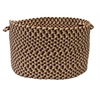 "Colonial Mills Burmingham - Brick Brown 18""x12"" Storage Basket"