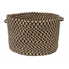 "Colonial Mills Burmingham - Neutral Tone 18""x12"" Storage Basket"