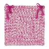 Catalina- Magenta Chair Pad (set 4)