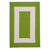 Colonial Mills Rope Walk - Bright Green 4' square