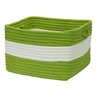 "Rope Walk- Bright Green 14""x10"" Utility Basket"