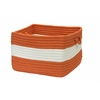 "Rope Walk - Rust 18""x12"" Utility Basket"