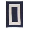 Colonial Mills Rope Walk - Navy 4' square