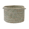 "Colonial Mills Corsica - Seagrass 18""x12"" Utility Basket"