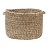 "Colonial Mills Corsica- Moss Green 14""x10"" Utility Basket"