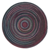 Colonial Mills Chestnut Knoll - Baltic Blue 4' round