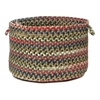 "Colonial Mills Chestnut Knoll- Straw Beige 14""x10"" Utility Basket"