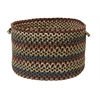 "Cedar Cove- Dark Brown 18""x12"" Storage Basket"