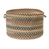 "Colonial Mills Cedar Cove- Natural 18""x12"" Storage Basket"