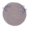 Softex Check - Amethyst Check Chair Pad (set 4)