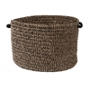 "Colonial Mills Softex Check - Black Check 18""x12"" Utility Basket"