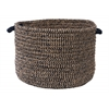 "Colonial Mills Softex Check- Navy Check 14""x10"" Utility Basket"