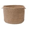 "Colonial Mills Softex Check - Café Tostado Check 18""x12"" Utility Basket"