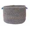 "Colonial Mills Softex Check- Blue Ice Check 14""x10"" Utility Basket"