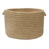 "Colonial Mills Softex Check - Celery Check 18""x12"" Utility Basket"