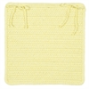 Colonial Mills Courtyard - Yellow Chair Pad (single)