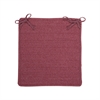 Colonial Mills Courtyard - Mauve Chair Pad (set 4)