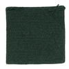 Colonial Mills Courtyard - Cypress Green Chair Pad (single)