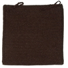 Colonial Mills Courtyard - Cocoa Chair Pad (single)