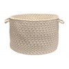"Colonial Mills Elmwood - Tarragon 18""x12"" Storage Basket"