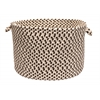 "Elmwood - Bark 18""x12"" Storage Basket"
