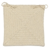 Shear Natural - Canvas Chair Pad (set 4)