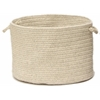 "Shear Natural- Cobblestone 14""x10"" Utility Basket"