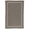 Colonial Mills Shear Natural - Rockport Gray 8' square