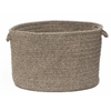 "Shear Natural - Rockport Gray 18""x12"" Utility Basket"