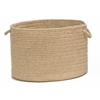"Colonial Mills Shear Natural - Muslin 18""x12"" Utility Basket"