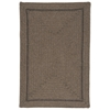 Colonial Mills Shear Natural - Latte 10' square