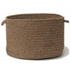 "Shear Natural- Latte 14""x10"" Utility Basket"