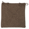 Shear Natural - Latte Chair Pad (set 4)
