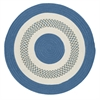 Colonial Mills Flowers Bay - Blue 4' round
