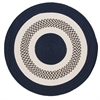 Colonial Mills Flowers Bay - Navy 4' round