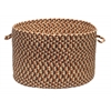 "Colonial Mills Pattern-Made - Natural Multi 18""x12"" Utility Basket"