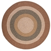 Pattern-Made - Natural Multi 6' round