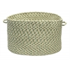 "Colonial Mills Pattern-Made- Green Multi 14""x10"" Utility Basket"
