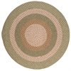 Colonial Mills Pattern-Made - Green Multi 4' round