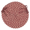 Pattern-Made - Red Multi Chair Pad (single)