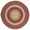 Pattern-Made - Red Multi 8' round
