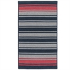 Frazada Stripe - Navy & Red 5'x7'