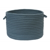 "Simply Home Solid- Lake Blue 14""x10"" Utility Basket"