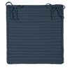 Simply Home Solid - Lake Blue Chair Pad (set 4)