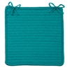 Simply Home Solid - Turquoise Chair Pad (single)