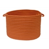 "Simply Home Solid- Rust 14""x10"" Utility Basket"