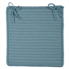 Simply Home Solid - Federal Blue Chair Pad (set 4)