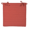 Simply Home Solid - Terracotta Chair Pad (set 4)
