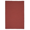 Colonial Mills Simply Home Solid - Terracotta 8'x11'